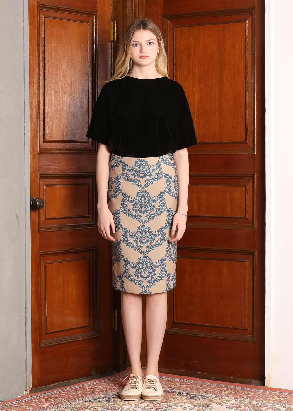 ART DECO H-LINE SKIRT